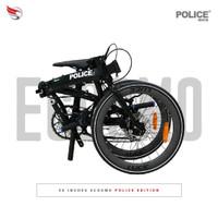 """Sepeda lipat Element Ecosmo 11 Police diamond 20"""""""