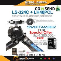 LEOFOTO LS-324C & LH-40 PCL