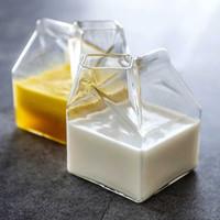 Gelas Kaca Kotak Susu