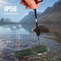 Korek Api Elektrik Double Arc Lighter Senter LED Kompas - JL320