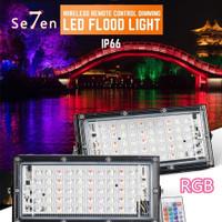 A520 RGB 50Watt Lampu Led Sorot 50w Floodlight RGB Warna Warni