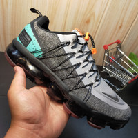 Sepatu Nike Air VaporMax Run Utility Black Tropical Twist