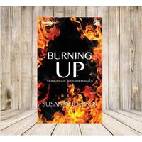 Novel Harlequin Burning Up Terbakar dan Membara Original Baru Segel