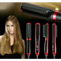 Sisir Ion Listrik Pelurus Rambut Fast Hair Straightener