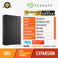 HDD EXPANSION SEAGATE 500GB - EXTERNAL HARDDISK HDD ORIGINAL