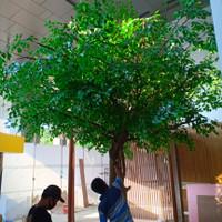 POHON BERINGIN ARTIFICIAL TREE POHON DEKORASI RUANGAN