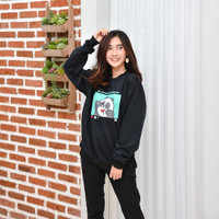 Panda Bear Like Her Club Sweater Wanita Terbaru & Terlaris