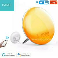 BARDI WiFi Smart Wake Up Light Workday Alarm Clock Home Automation