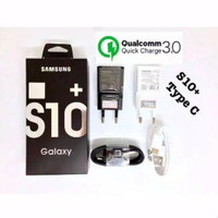 Charger Samsung Original S10+ USB Type C Fast Charging