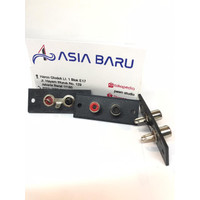Socket soket rca 2 pin murah / soket input output / soket audio