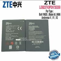 Baterai ZTE Blade A5 V9820 N986 Andromax V V1 V2 / Li3823T43P3h735350