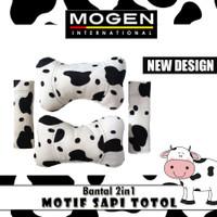 Bantal Mobil 2in1 MOTIF SAPI TOTOL / Bantal Boneka 2 in 1 MOTIF HEWAN