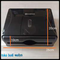 dispenser tissue paper hitam