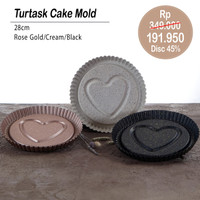 PERO TURTASK CAKE MOLD - CREAM
