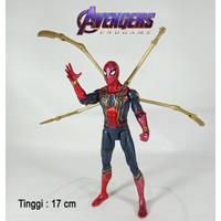 Iron Spider Spiderman Avengers Figure Mainan Koleksi Pajangan