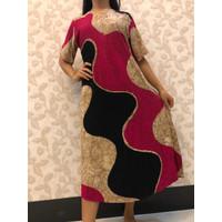 Daster Batik Pekalongan/ Baju Tidur Wanita/ Pink/ Coklat/ Murah