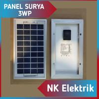 Panel surya / solar panel / solar cell 3WP
