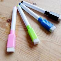 4 pcs Spidol Tulis Hapus Mini Wipe and Clean Warna Warni White Board