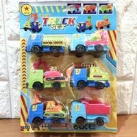 Mainan Mobil Mini Konstruksi Aksesoris Playmat