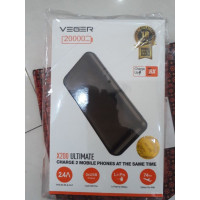 Powerbank Veger X200 20000 mAh fast charge 2,4A