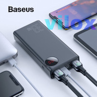 baseus powerbank pb 30000mah pd qc 33w 5output iphone x 11 pro macbook