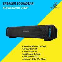 Speaker Sonicgear Sonicbar 200P Audio For Laptop - Notebook - PC