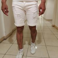 Celana jeans pria/celana pendek pria/short jeans/ripped jeans - 29