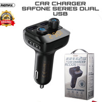 remax car fast charging charger mobil 2 usb original