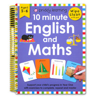 Priddy Learning 10 Minute English and Maths Wipe Clean Activities Book