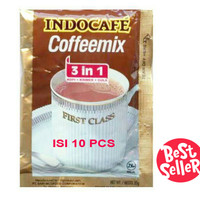 Indocafe Mix 1 Renceng isi 10 Sachet Coffee Kopi 3in1