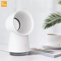Xiaomi 3 in 1 Bladeless Mini Fan Humidifier LED Light Essential Oil WS