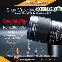 Venus Optics Laowa 65mm f/2.8 2x Ultra Macro APO Lens for Sony