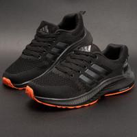 Sepatu Sport Pria Sneakers Import Tali Zoom Runing Jogging ZMP01-BLACK
