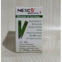 Strip Refill Gula Darah Nesco / Nesco Glucose Refil