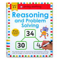 Priddy Learning Reasoning and Problem Solving Wipe Clean Activities Bo