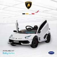 Mobil Aki / Accu Pliko Lamborghini Aventador SVJ Lisensi PK8258N