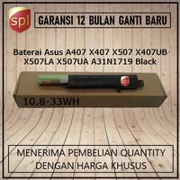 Baterai Asus A407 X407 X507 X407UB X507LA X507UA A31N1719 Black-IN