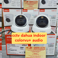 camera cctv indoor dahua full color vu+audio 2mp FULLHD GARANSI RESMI