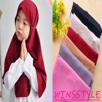 Hijab Anak Bergo Maryam Tali Khimar Jilbab Instan Winsstyle WHJ001