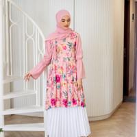 Magnolia Hanbok Floral Tunic / Tunik
