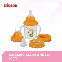 Pigeon Magmag Mag Mag All in One Set Training Cup Botol Minum Bayi