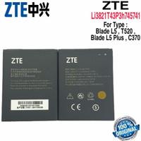 Baterai Battery Original ZTE Blade L5+ L5 Plus C370 Li3821T43P3h745741
