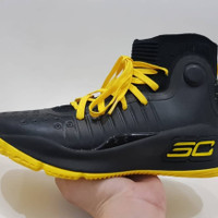 UNDER ARMOUR CURRY 4 YELLOW BLACK