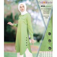 BLOUSE MUSLIMAH ENDOMODA PP 54 GREEN