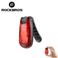 Rockbros Lampu Belakang Sepeda Mini Rockbros Led Clip Tail Light Mini