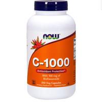 Now Foods Vitamin C-1000 With 100 mg of Bioflavonoids 250 Veg Capsules