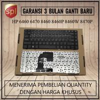 Keyboard HP EliteBook 8460 8460p ProBook 6460b 6465b 6460 Black