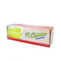 Diamond Cheese Processed Cheddar - Keju Cheddar 2kg Original Murah