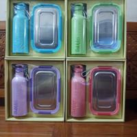 Kotak Tempat Makan Lunch + Termos Dubblin True Love Gift Set DBN-1900