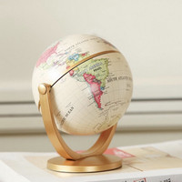 Globe Peta Dunia Berputar Dekorasi Ruangan